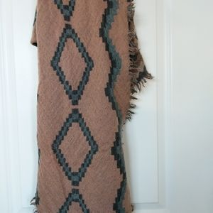 Wilfred Diamond Mosaic Triangle Scarf